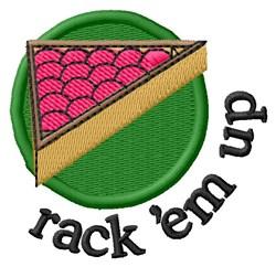 Rack Em Up embroidery design
