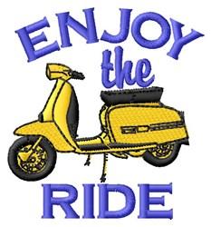 Enjoy Ride embroidery design