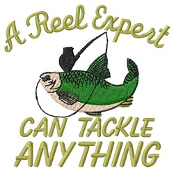 Reel Expert embroidery design