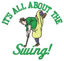 All About Swing embroidery design
