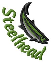 Steelhead embroidery design