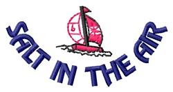 Salt & Boat embroidery design