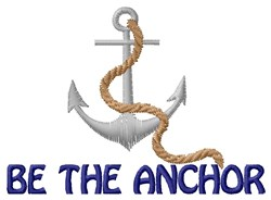 Anchor & Ropes embroidery design