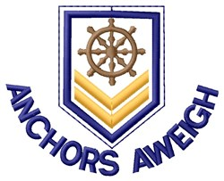 Anchors & Paddlewheel embroidery design