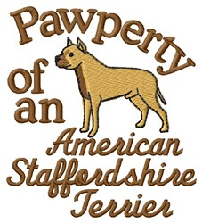Starordshire Pawperty embroidery design
