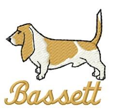 Bassett embroidery design