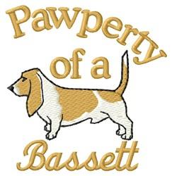 Bassett Pawperty embroidery design