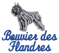 Bouueir Des Flandres embroidery design