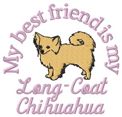 Long-Coat Friend embroidery design