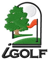 iGolf embroidery design