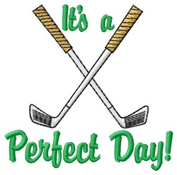 Perfect Day embroidery design