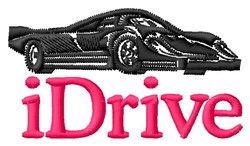 iDrive embroidery design