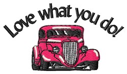 What You Do embroidery design