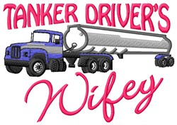Tankers Wifey embroidery design