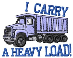 Heavy Load embroidery design