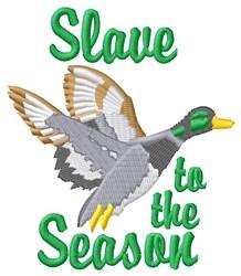 Slave To Season embroidery design
