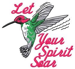 Spirit Soar embroidery design