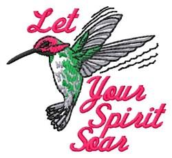 Let Spirit pirit embroidery design