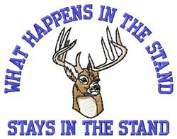In The Stand embroidery design