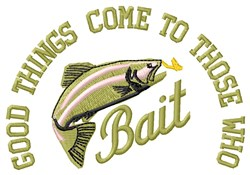 Those Who Bait embroidery design