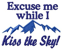 Kiss The Sky embroidery design