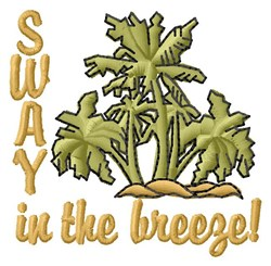 Sway In Breeze embroidery design