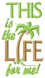 This Is Life embroidery design