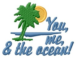 You Me Ocean embroidery design