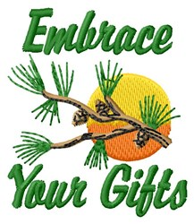 Embrace Gifts embroidery design