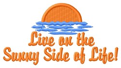 Sunny Side embroidery design