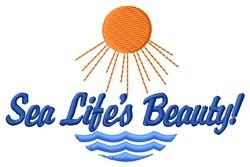 Sea Beauty embroidery design