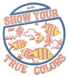 True Colors embroidery design