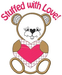 Stuffed Love embroidery design
