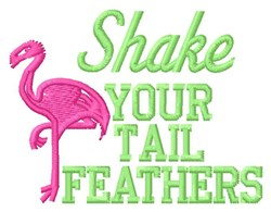 Shake Feathers embroidery design