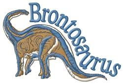 Brontosaurus embroidery design