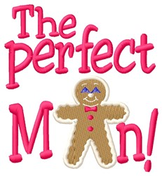 Perfect Man embroidery design