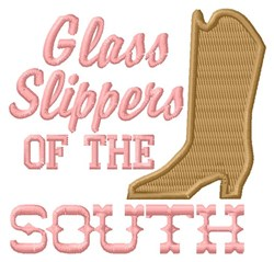 Glass Slippers embroidery design