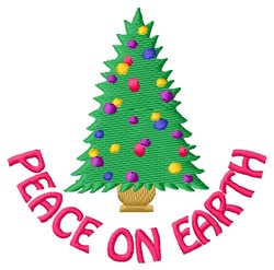Peace On Earth embroidery design
