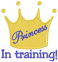 Princess Training embroidery design
