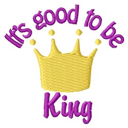 Be King embroidery design