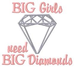 Big Girls embroidery design