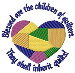 Children Of Quilters embroidery design