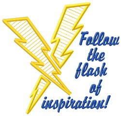 Inspiration Flash embroidery design