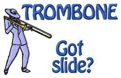 Got Slide? embroidery design