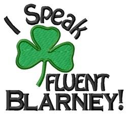 Speak Blarney embroidery design