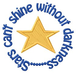 Stars Shine embroidery design