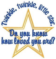Little Star embroidery design