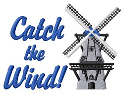 Catch The Wind embroidery design