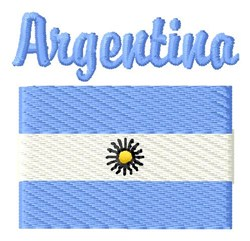Argentina embroidery design