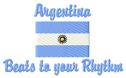 Argentina Rhythm embroidery design
